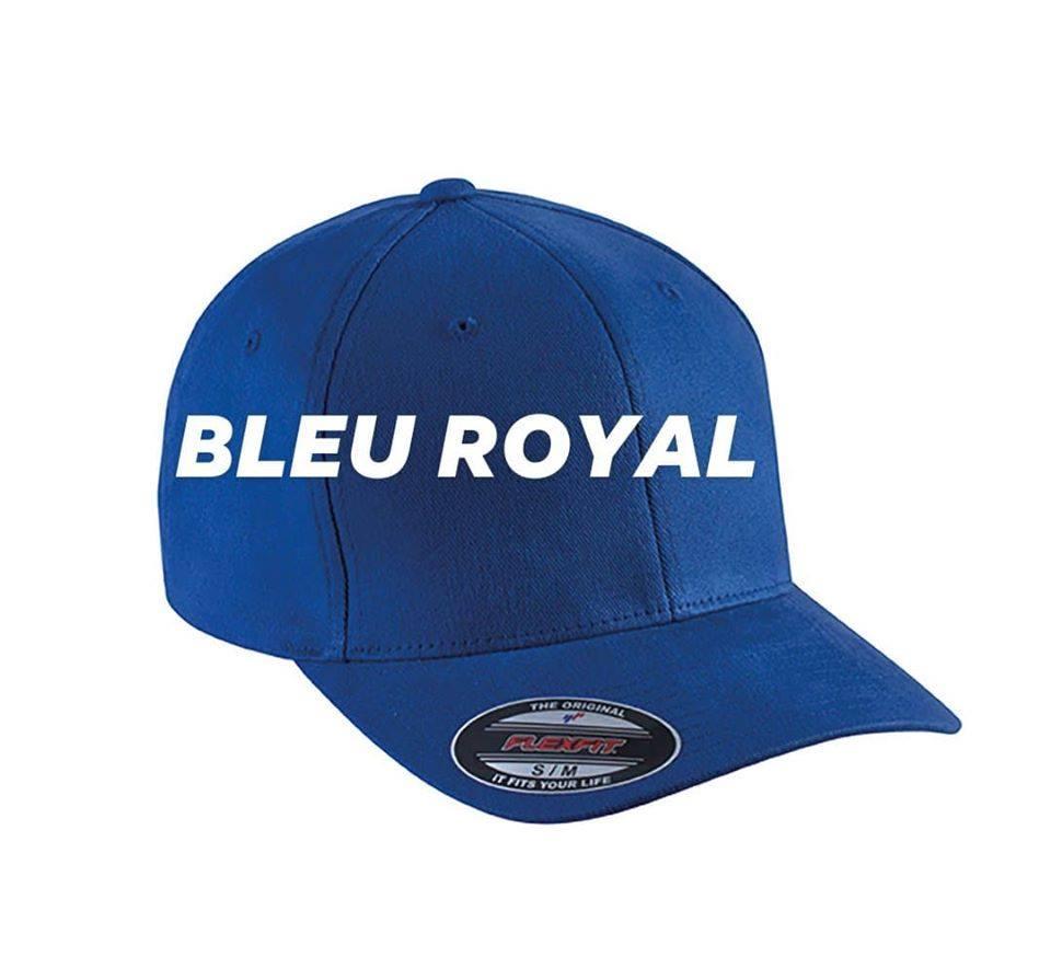 Casquette flexfit bleu royal