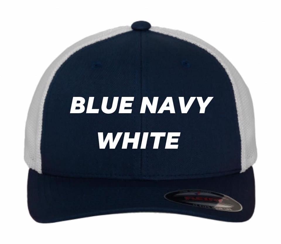 Flexfit trucker blue navy white