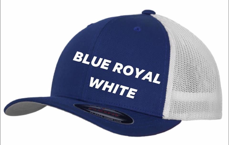 Flexfit trucker blue royal white